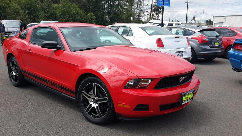 Pre Owned 2010 Ford Mustang 2d Coupe Premium In Port Angeles H6867b