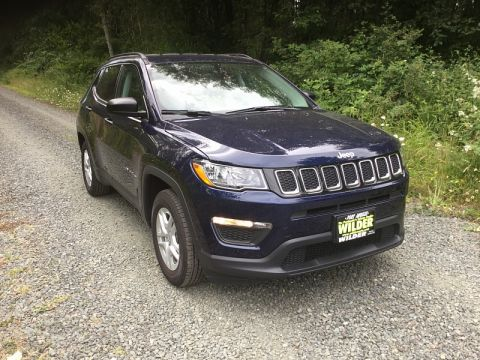 Pre-Owned 2017 Jeep All-New Compass 4d SUV FWD Sport