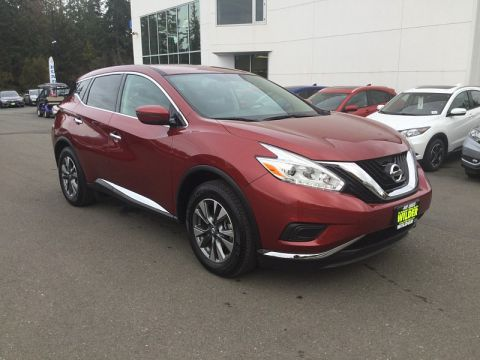 Pre-Owned 2017 Nissan Murano 4d SUV AWD S (2017.5)