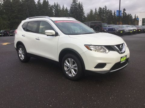 Pre-Owned 2015 Nissan Rogue 4d SUV AWD SV